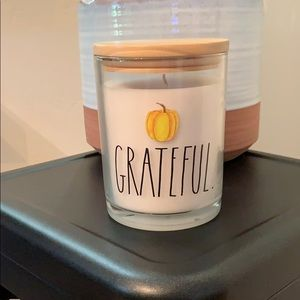 🎀🆕Rae Dunn GRATEFUL Candle 🕯